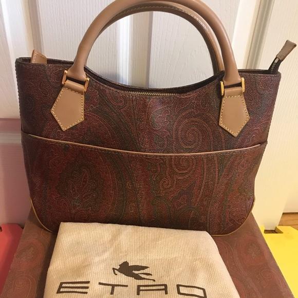 afd87204403d1 Etro Handbags - Authentic ETRO MILANO handbag